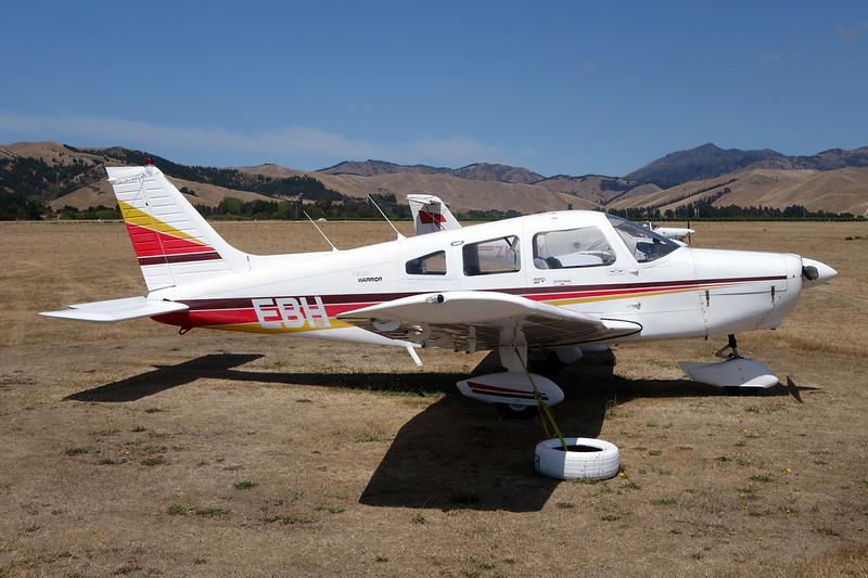ZK-EBH Piper PA-28-151 Warrior c/n 28-7515426 Blenheim-Omaka/NZOM 07-02-15