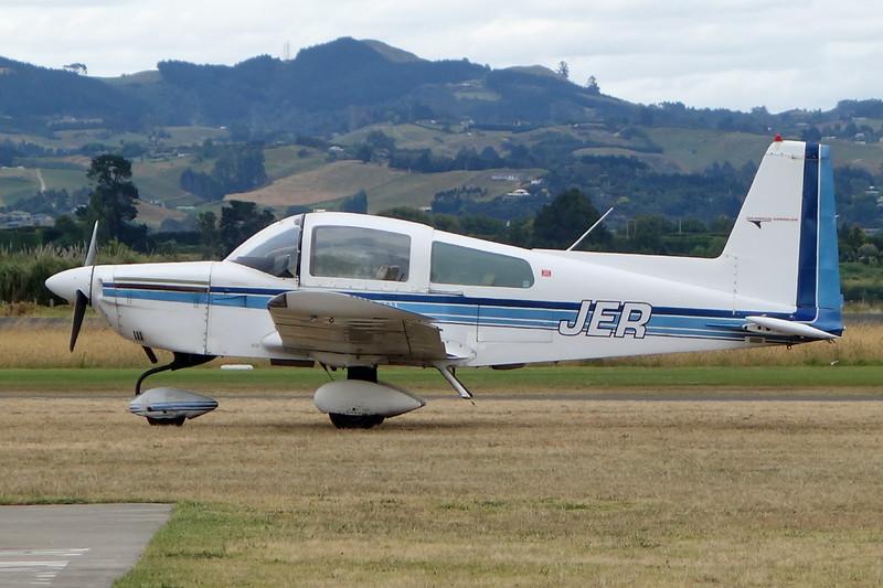 ZK-JER American Aviation AA-5A Cheetah c/n 0764 Tauranga/NZTG/TRG 27-01-15