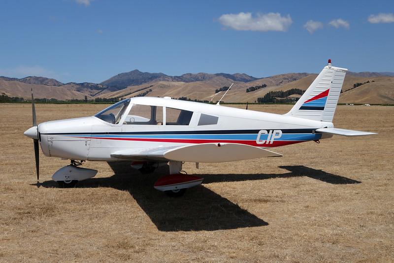 ZK-CIP Piper PA-28-140 Cherokee c/n 28-20475 Blenheim-Omaka/NZOM 07-02-15