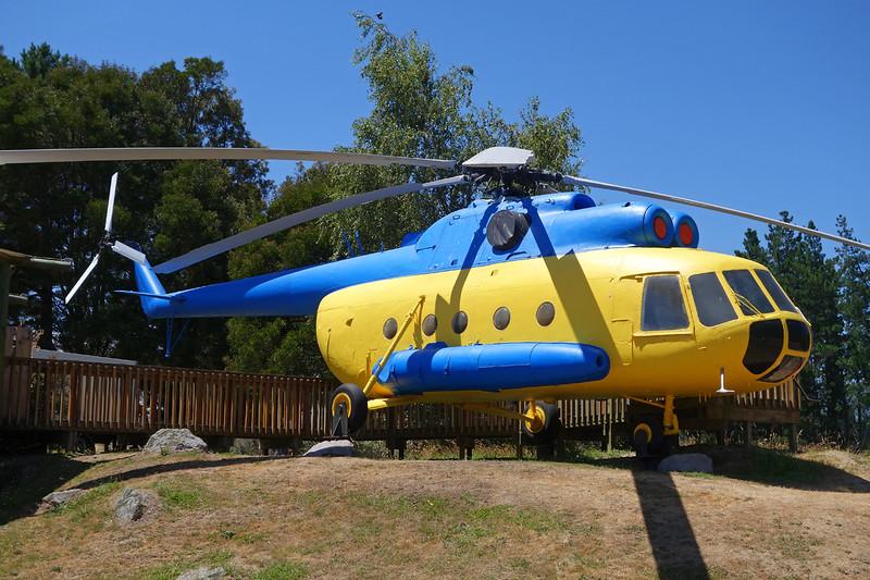 YS-1006P Mil Mi-8TS c/n 40705 Wairakei-Huka Falls Heliport 23-01-15