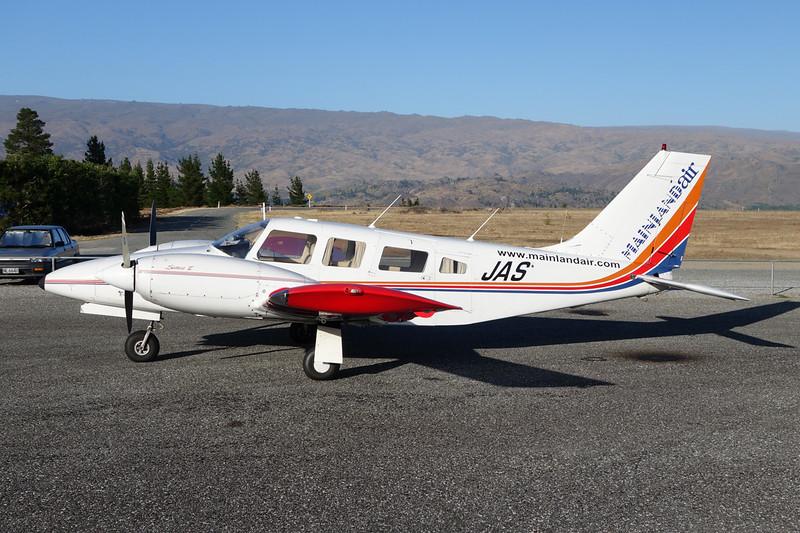 ZK-JAS Piper PA-34-220T Seneca c/n 3448010 Alexandra/NZLX/ALR 10-02-15