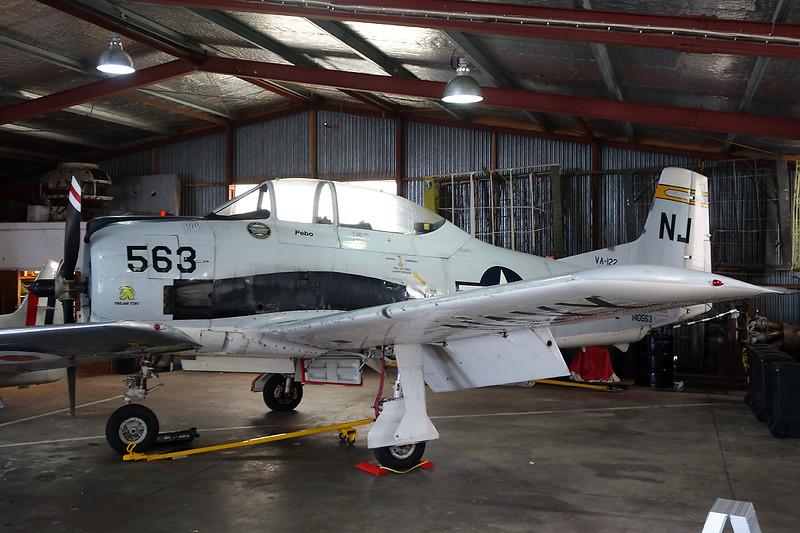 ZK-JGS (140563/NJ-563) North American T-28C Trojan c/n 226-140 Ardmore/NZAR/AMZ