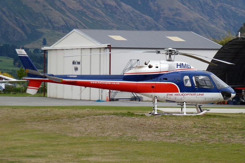 ZK-HMB Aerospatiale AS.355F1 Ecureuil II c/n 5016 Queenstown/NZQN/ZQN 18-03-12
