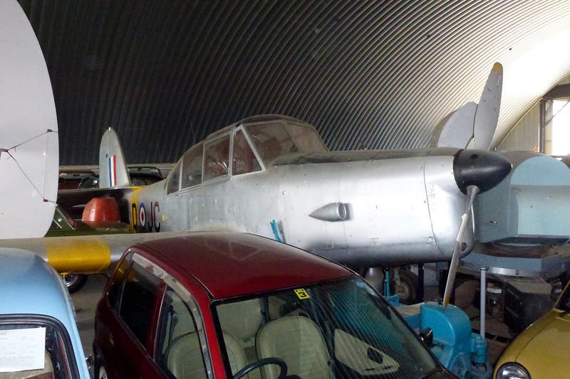 ZK-DJC Percival P.40 Prentice T.1 c/n 5820/1 Wanaka/NZWF/WKA 24-03-12