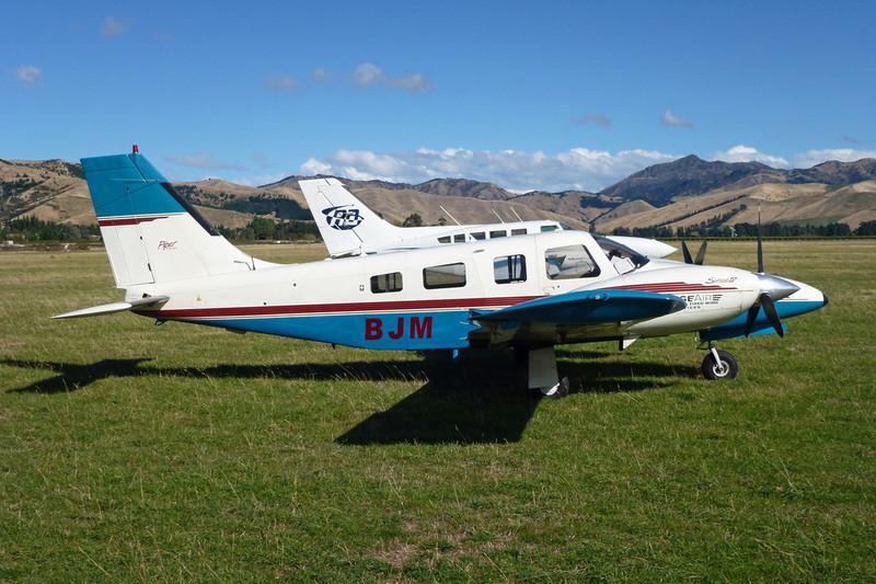 ZK-BJM Piper PA-34-220T Seneca IV c/n 3448048 Blenheim-Omaka/NZOM 25-03-12