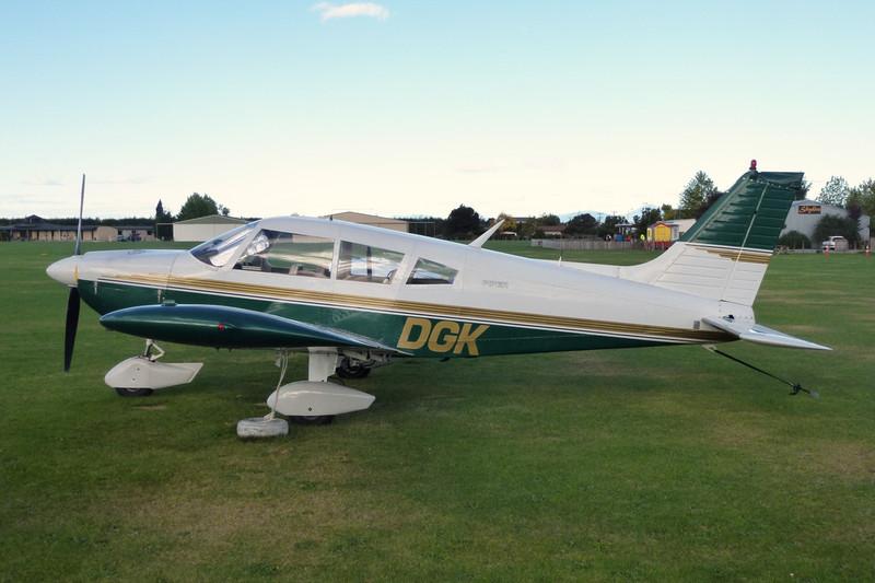 ZK-DGK Piper PA-28-235 Cherokee c/n 28-7310003 Motueka/NZMK/MZP 25-03-12