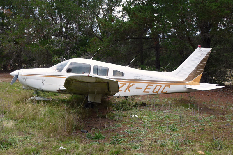 ZK-EQC Piper PA-28-161 Warrior II c/n 28-7916381 Alexandra/NZLX/ALR 22-03-12