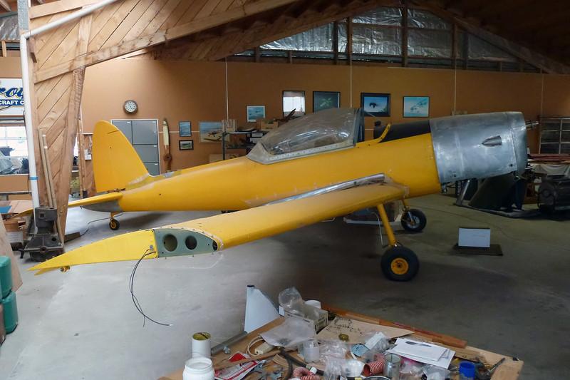 VT-CV? de Havilland DHC-1 Chipmunk 1A-2 c/n unknown Mandeville/NZVL 22-03-12