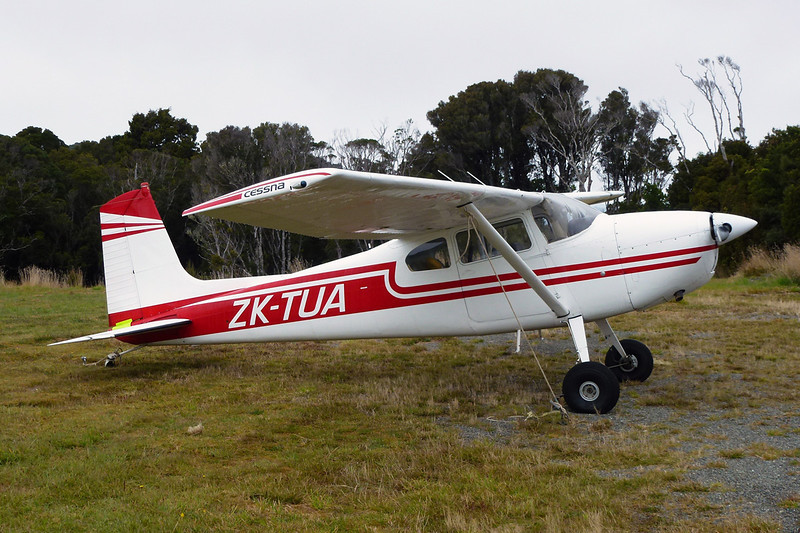 ZK-TUA Cessna 180E c/n 180-51144 Ryans Creek/NZRC 22-03-12