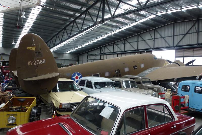 VH-XUS (18-2388) Lockheed C-60A Lodestar c/n 18-2388 Wanaka/NZWF/WKA 24-03-12