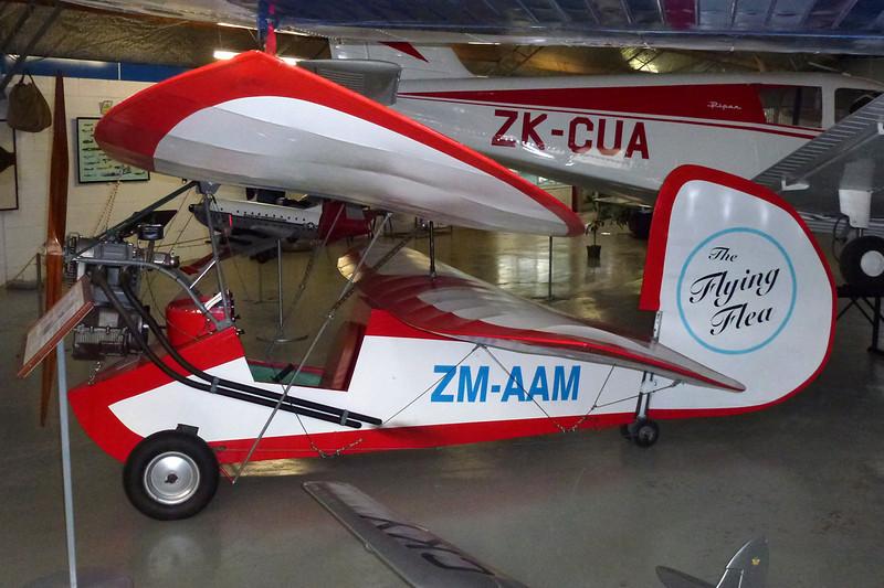ZM-AAM Mignet HM.14 Pou-de-Ciel Replica c/n unknown Ashburton/NZAS 11-04-12