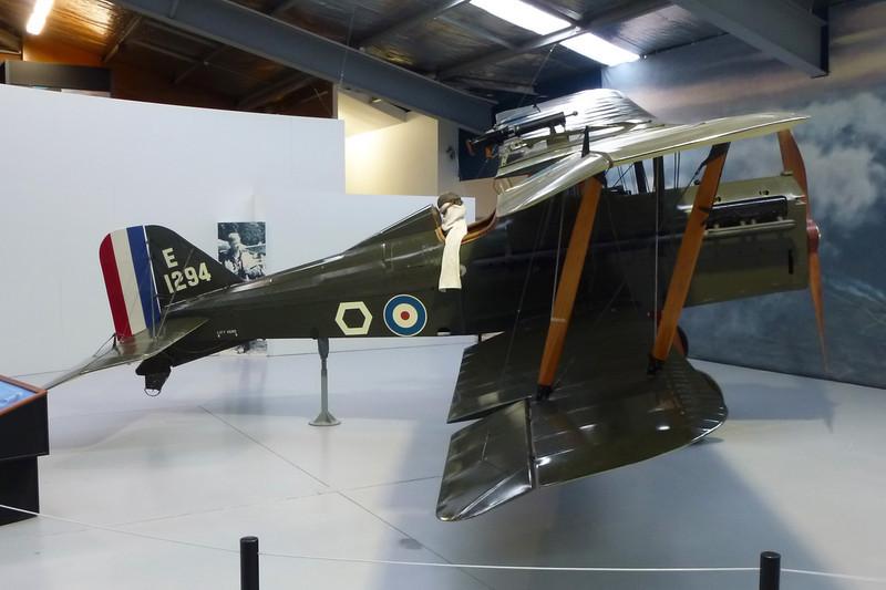 E1294 Royal Aircraft Factory SE.5A Replica c/n unknown Wanaka/NZWF/WKA 24-03-12