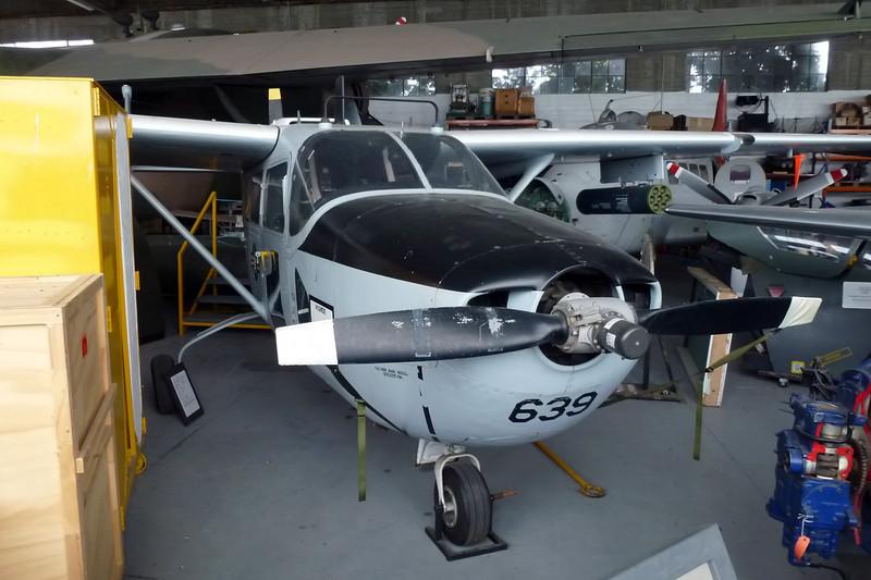 "69-7639 Cessna O-2A Super Skymaster ""United States Air Force"" c/n 337M-0437 Wigram/NZWG 12-04-12"