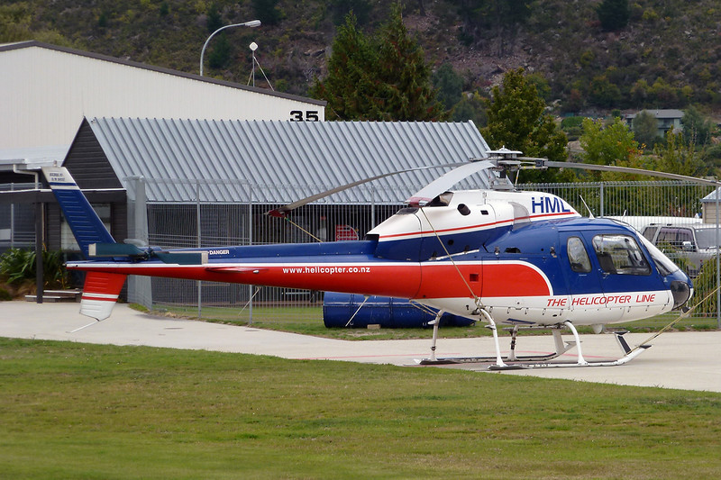 ZK-HML Aerospatiale AS.355F1 Ecureuil II c/n 5032 Queenstown/NZQN/ZQN 18-03-12