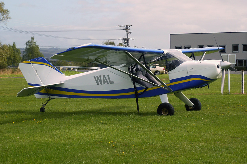 ZK-WAL Rans S.7 Courier c/n 0195144 Dunedin-Taieri/NZTI 28-03-12