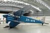 ZK-AYR de Havilland DH-90 Dragonfly c/n 7508 Mandeville/NZVL 22-03-12