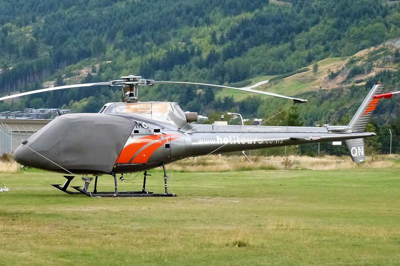 ZK-HQN Aerospatiale AS.350BA Ecureuil c/n 1807 Queenstown/NZQN/ZQN 18-03-12