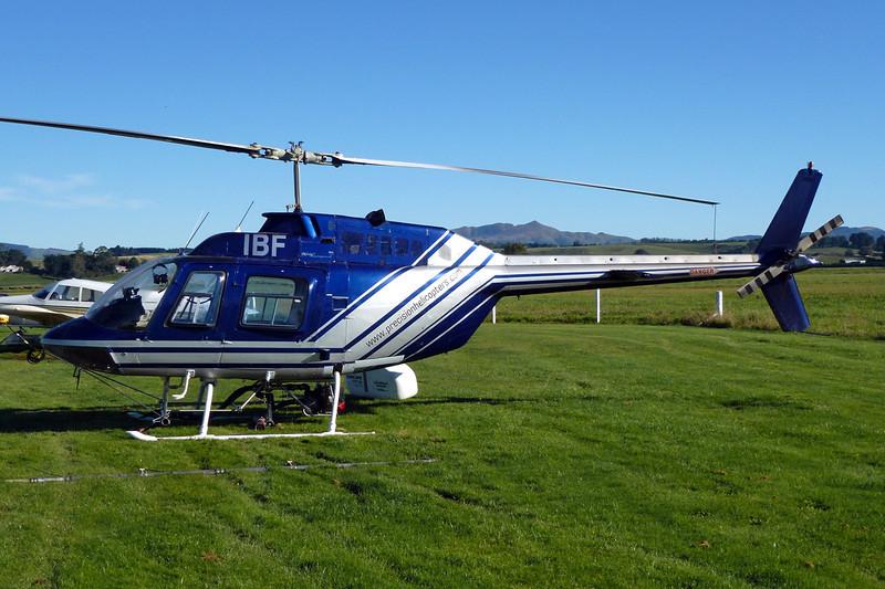 ZK-IBF Bell Helicopters 206B Jet Ranger II c/n 919 Gore/NZGC 21-03-12