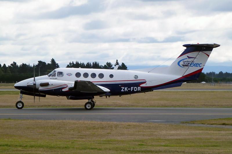 ZK-FDR Beech 200C Super King Air c/n BL-31 Christchurch/NZCH/CHC 12-04-12