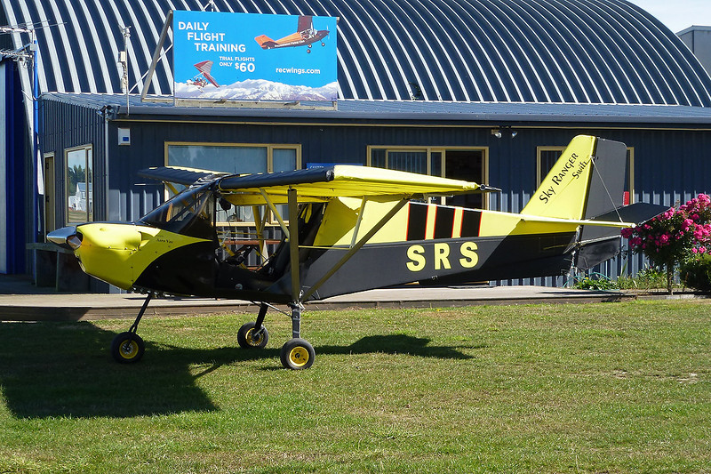 ZK-SRS Aeros Microlight Skyranger Swift c/n 816 Rangiora/NZRT 27-03-12