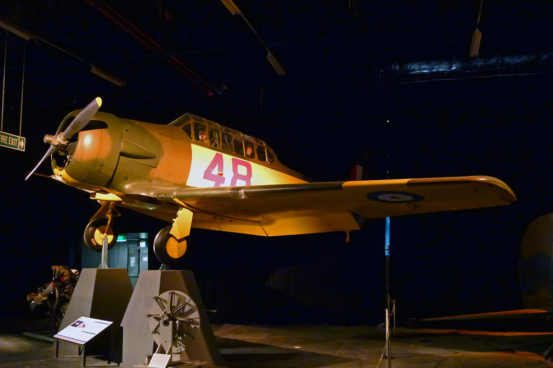 """INST213 (NZ948/48) North American AT-6D Harvard III """"Royal New Zealand Air Force"""" c/n 88-16326 Wigram/NZWG 11-04-12"""