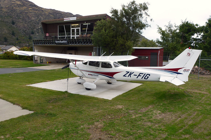 ZK-FIG Cessna172S c/n 172S-9619 Queenstown/NZQN/ZQN 18-03-12