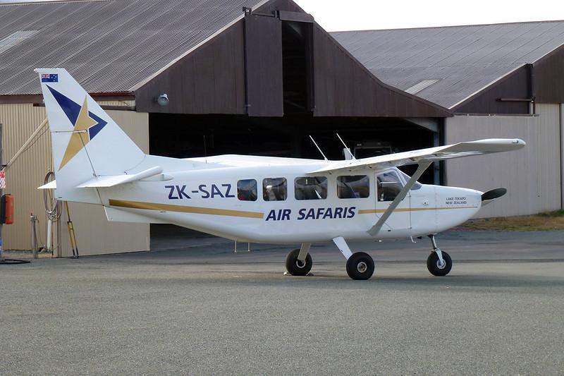 "ZK-SAZ Gippsland GA-8 Airvan ""Air Safaris"" c/n GA8-05-078 Lake Tekapo/NZTL 11-04-12"