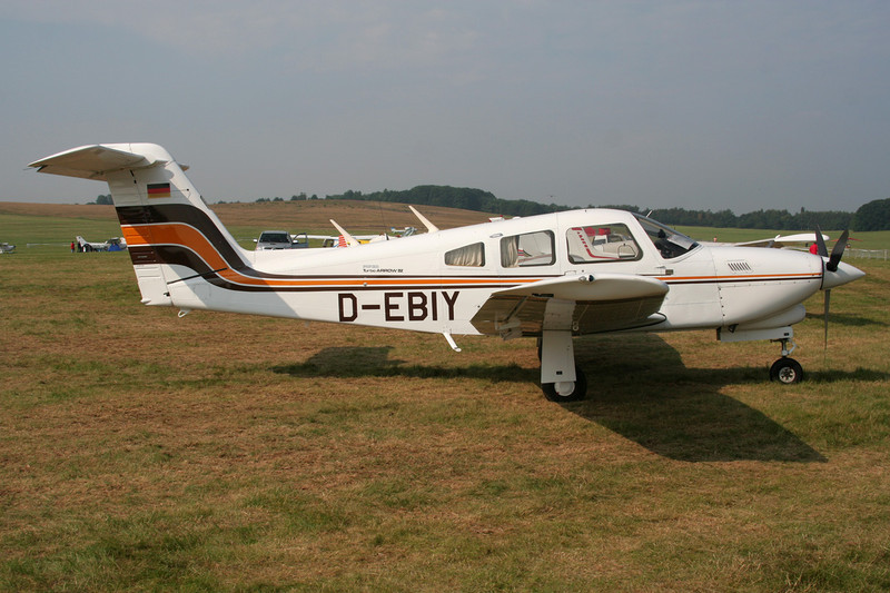 D-EBIY Piper PA-28RT-201T Turbo Arrow IV c/n 28R-7931229 Schaffen-Diest/EBDT 12-08-07