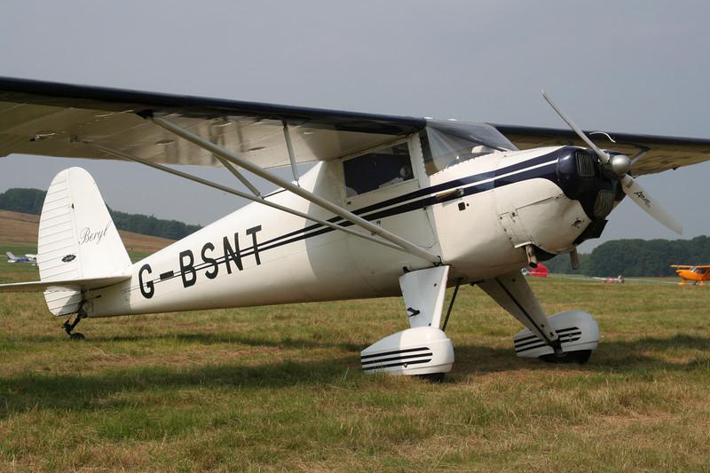 G-BSNT Luscombe 8A Silvaire c/n 1679 Schaffen-Diest/EBDT 12-08-07