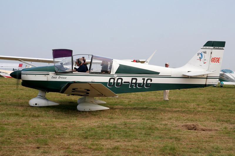 OO-RJC Robin DR.300-125 Petit Prince c/n 646 Schaffen-Diest/EBDT 12-08-07