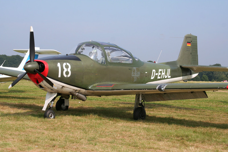 D-EHJL (18) Focke-Wulf FWP-149D c/n 045 Schaffen-Diest/EBDT 12-08-07