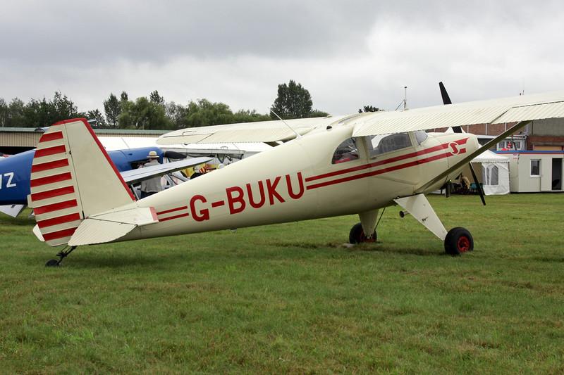 G-BUKU Luscombe 8E Silvaire c/n 4720 Schaffen-Diest/EBDT 14-08-11