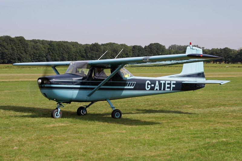 G-ATEF Cessna 150E c/n 150-61378 Schaffen-Diest/EBDT 12-08-12