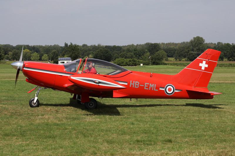 HB-EML Aviamilano F-260 c/n 502 Schaffen-Diest/EBDT 12-08-12