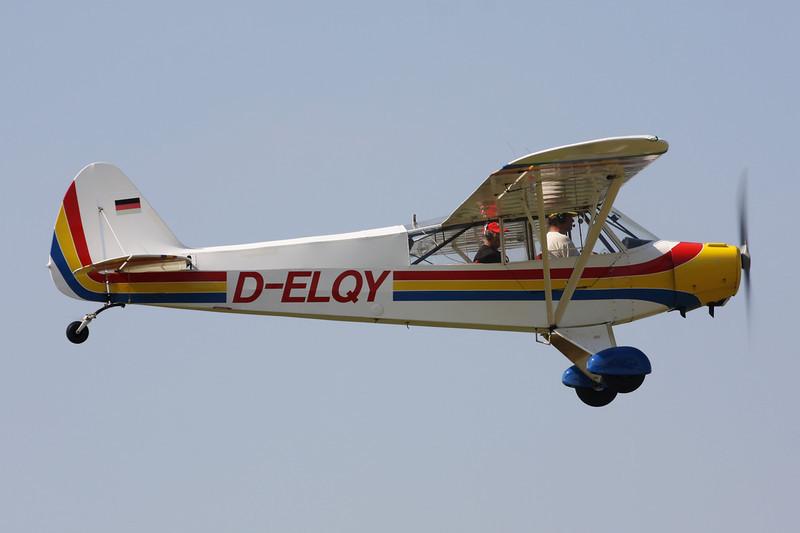 D-ELQY Piper L-18C-95 Super Cub c/n 18-3083 Schaffen-Diest/EBDT 11-08-12