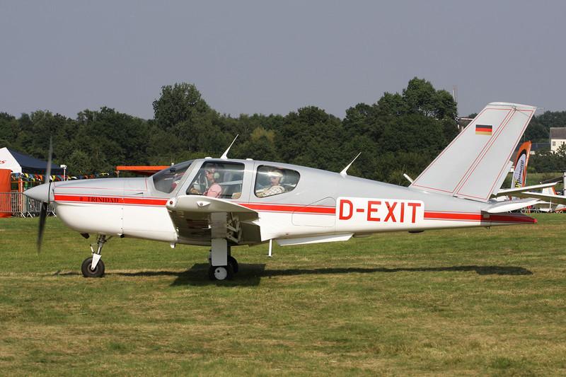 D-EXIT Socata TB-20 Trinidad c/n 1299 Schaffen-Diest/EBDT 11-08-12