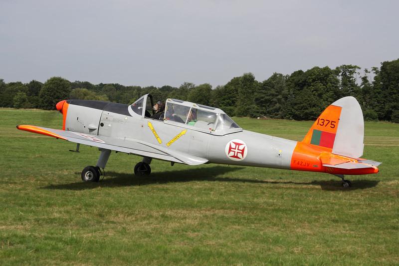 F-AZJV (1375) OGMA DHC-1 Chimpunk 22 c/n OGMA-65 Schaffen-Diest/EBDT 12-08-12
