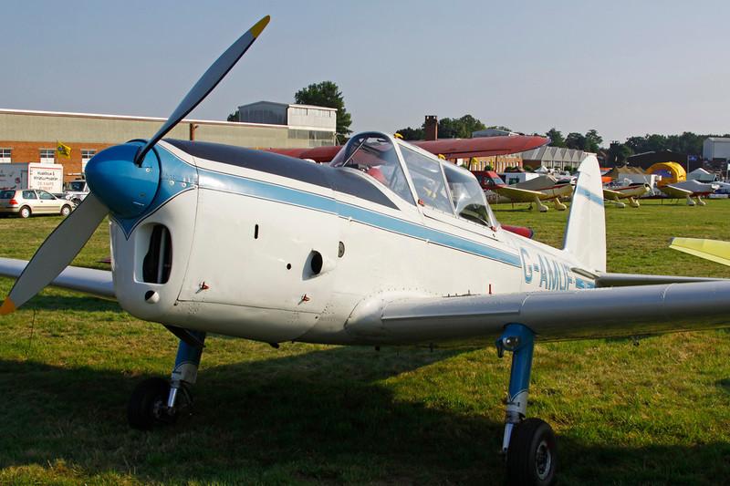 G-AMUF de Havilland Canada DHC-1 Chipmunk 21 c/n C1/0832 Schaffen-Diest/EBDT 11-08-12