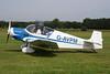 G-AVPM Jodel D.117 Gran Tourisme c/n 593 Schaffen-Diest/EBDT 12-08-12