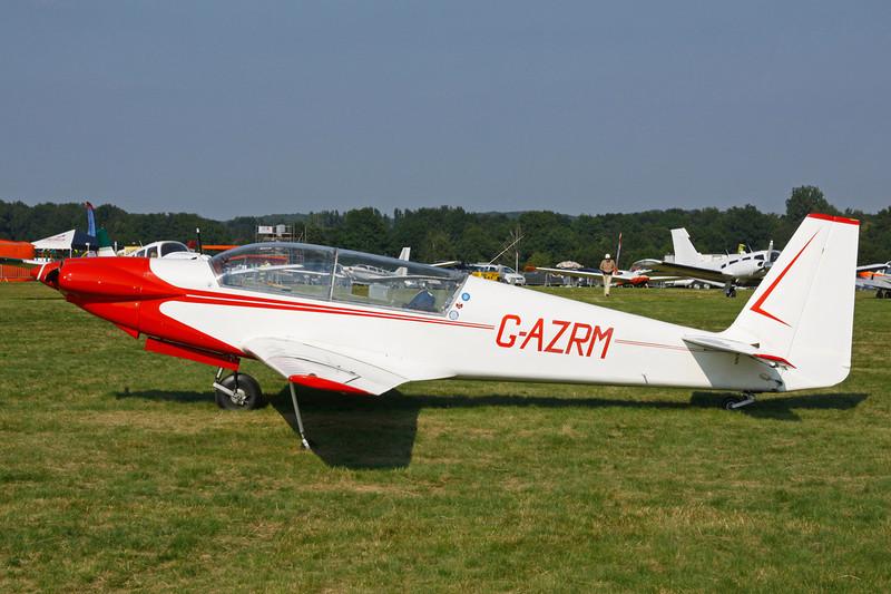 G-AZRM Sportavia RF-5 c/n 5111 Schaffen-Diest/EBDT 11-08-12