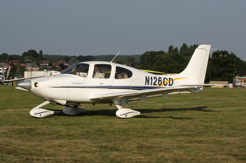 N126CD Cirrus Design SR-20 c/n 1012 Schaffen-Diest/EBDT 11-08-12
