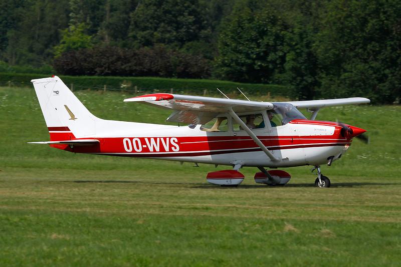 OO-WVS Cessna 172N c/n 172-69394 Schaffen-Diest/EBDT 12-08-12