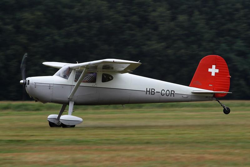 HB-COR Cessna 140A c/n 15351 Schaffen-Diest/EBDT 18-08-13