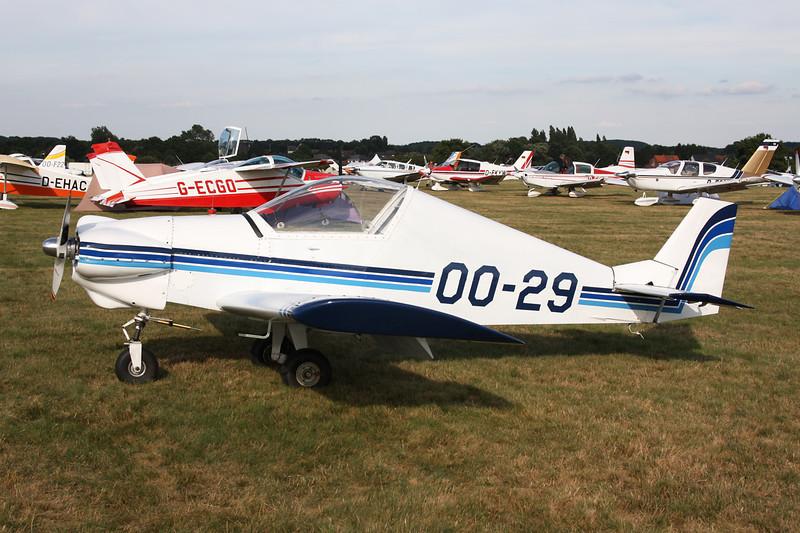 OO-29 Pottier P.80S c/n 47 Schaffen-Diest/EBDT 17-08-13