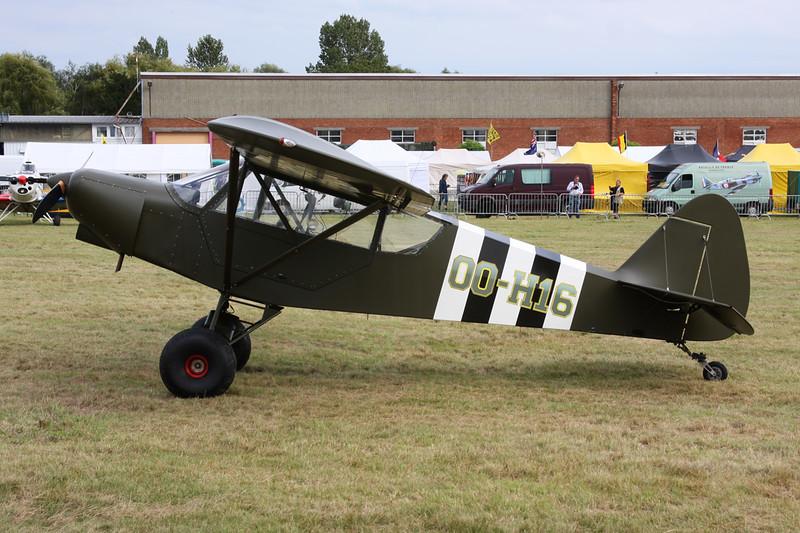 OO-H16 Zlin Aviation Savage c/n 0248 Schaffen-Diest/EBDT 16-08-14