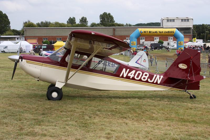 N408JN Champion 7ECA Citabria c/n 58 Schaffen-Diest/EBDT 16-08-14