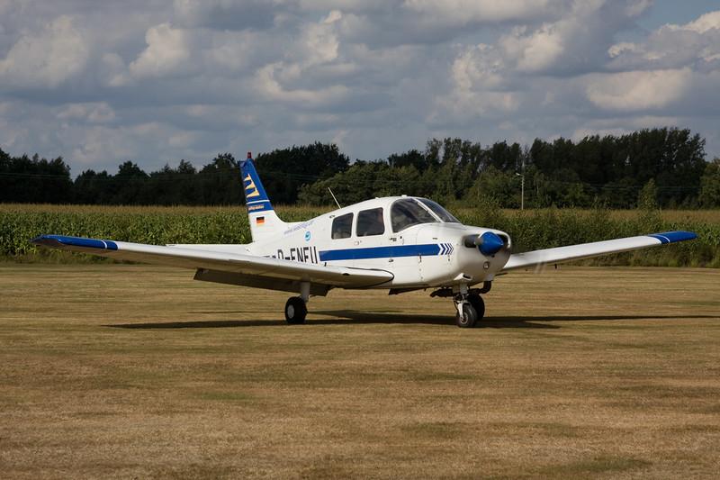 D-ENFU Piper PA-28-161 Cadet c/n 2841114 Hasselt-Kiewit/EBZH 29-08-09