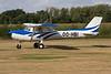OO-HBI Reims-Cessna F.150L c/n 0747 Hasselt-Kiewit/EBZH 29-08-09