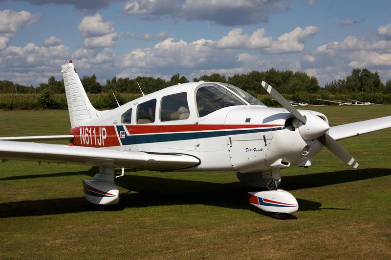 N611JP Piper PA-28-161 Warrior II c/n 28-7916111 Hasselt-Kiewit/EBZH 29-08-09