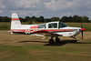 OO-DPG American Aviation AA-5 Traveler c/n 0647 Hasselt-Kiewit/EBZH 29-08-09